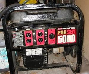 Coleman Powermate 6560 Generator Manual