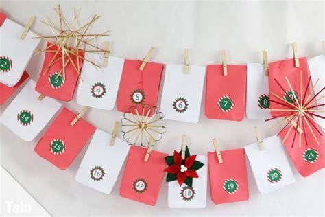 weihnachtskalender selber machen adventskalender mit t 252 ten basteln anleitung f 252 r papiert 252 ten talu de
