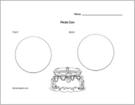 coin design template a to z stuff pirate education theme