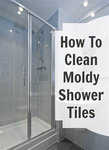 Moldy shower tile cha cha cha for How to get mould off bathroom walls