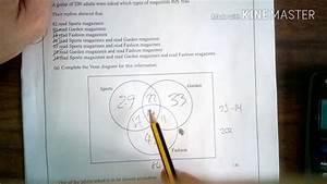 Q18 Venn Diagrams And Probability Higher  Foundation