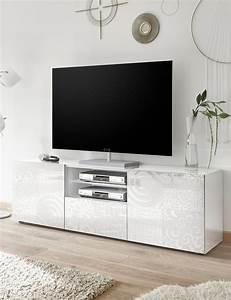 Tv Möbel Weiß : tv m bel emy weiss ~ Buech-reservation.com Haus und Dekorationen