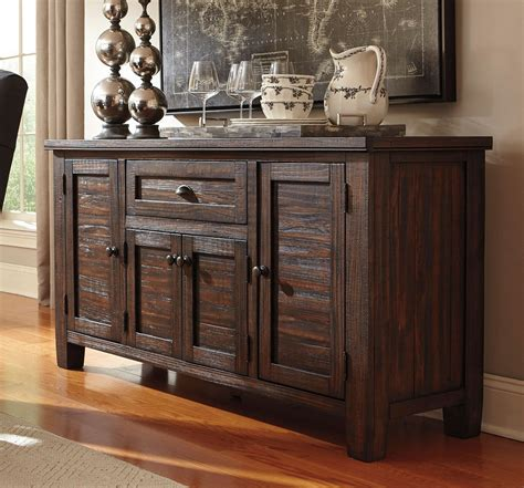 buffet kitchen furniture trudell server by signature design by 1 review s