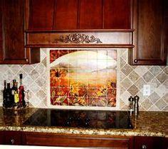 mural tiles for kitchen backsplash 1000 images about kitchen backsplash ideas and designs on 7051
