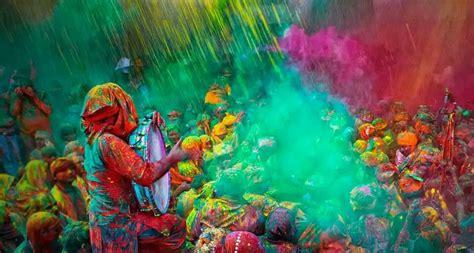 festival  colors happy holi  decorative