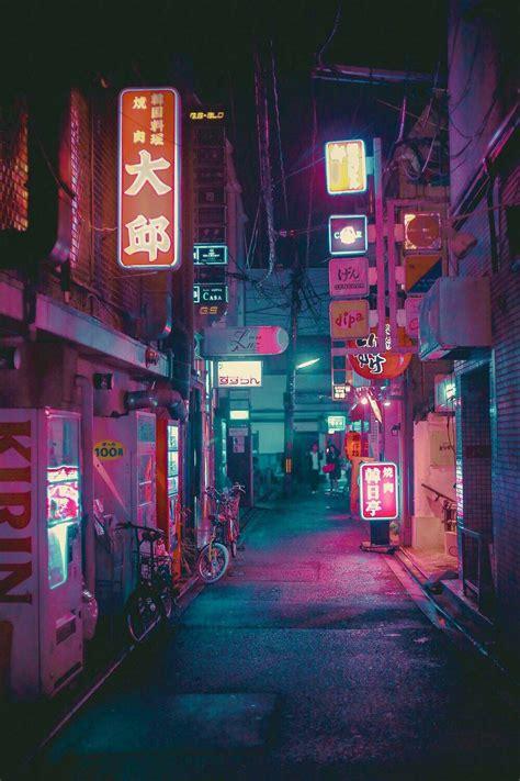 night life aesthetic paisaje
