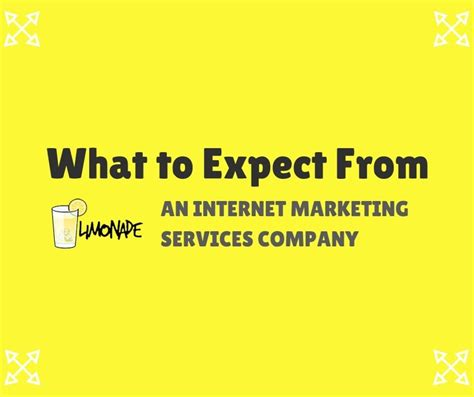web marketing company what to expect from an marketing services company