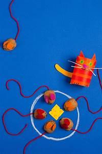 Spiel Selber Machen : basteln mit kindern kostenlose bastelvorlage selbst gebastelte spiele fang die maus ~ Buech-reservation.com Haus und Dekorationen