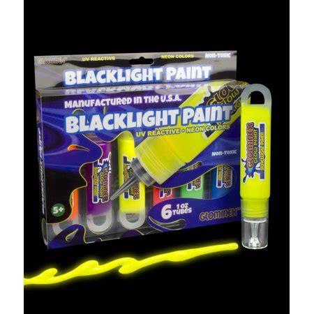 black light paint walmart glominex blacklight uv reactive paint 1oz retail