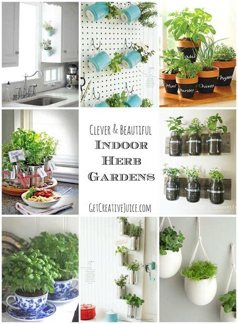 Indoor Herb Garden Pot Planters Ideas by Indoor Herb Garden Ideas Creative Beautiful And Easy