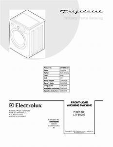 Frigidaire Ltf6000es0 User Manual
