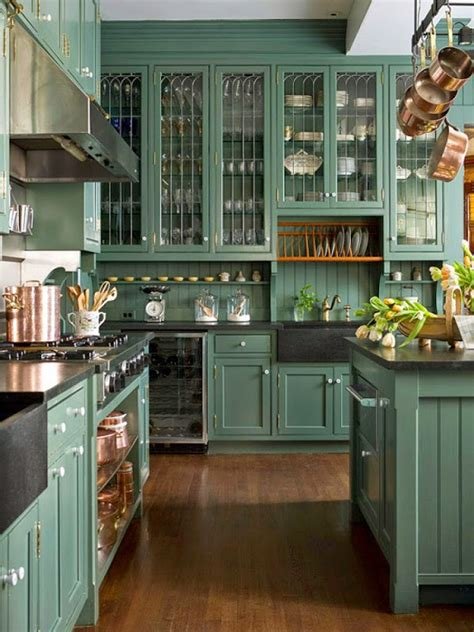 green kitchen design ideas  spring interiorholiccom