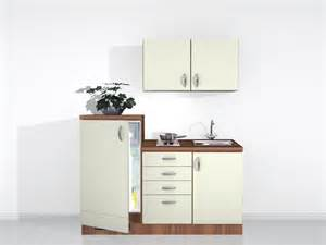 singleküche mit e geräten singleküche 160 cm mit geräten creme matt küchenzeilen