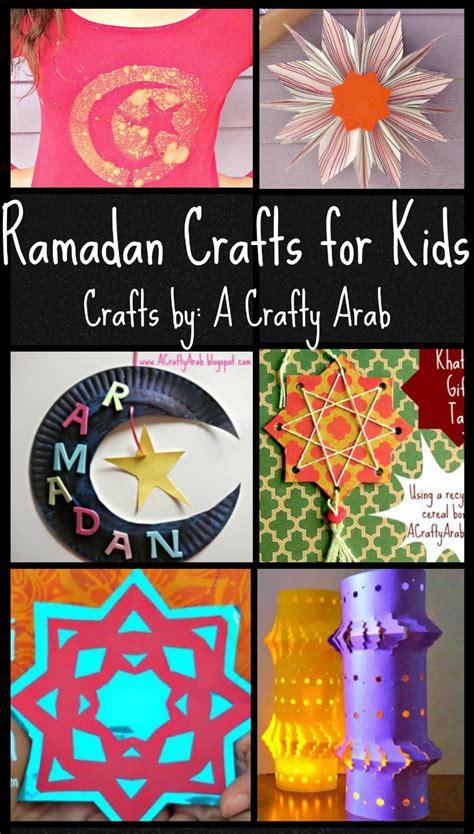 ramadan crafts  kids colorful  fun ideas