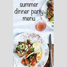 Dinner Party Menu  Martha Stewart Living  At The Lost