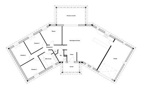 plan maison 4 chambres plain pied plan maison 140m2 plain pied modle maison 140 m2