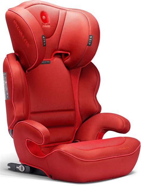 apramo ostara fix child car seat group  flame red