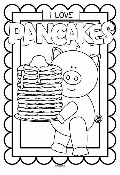Printables Pancake Coloring Pancakes Preschool Posters Pages