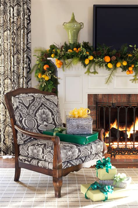minute christmas ideas  lemons  oranges