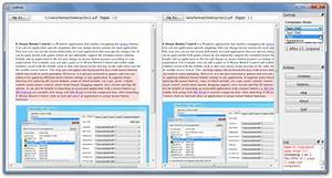 compare pdf file difference with diffpdf With pdf documents compare