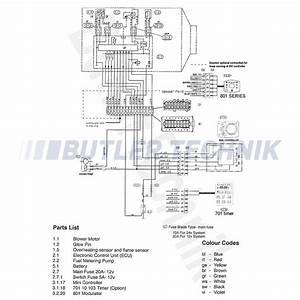 Eberspacher D2 Airtronic Marine Heater Complete Kit Single