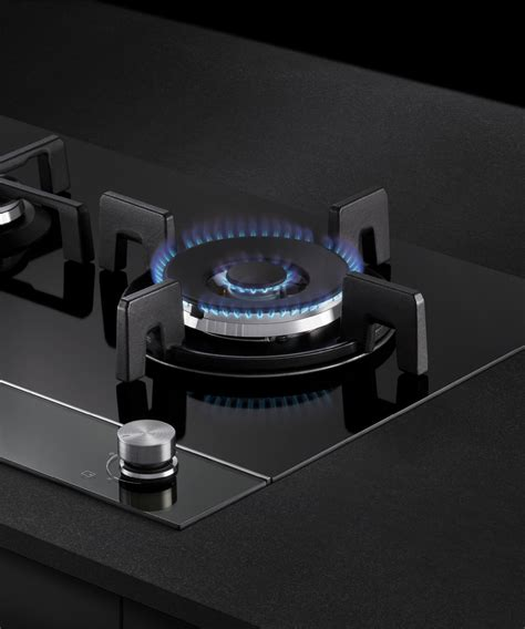 cgdlpgb fisher  paykel gas  glass cooktop