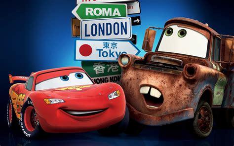 Cars 2 London Tokyo Wallpapers
