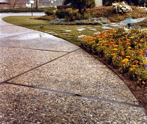 exposed aggregate ways to enhance exposed aggregate