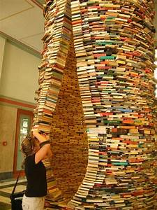 20 cool book sculptures for inspiration hative