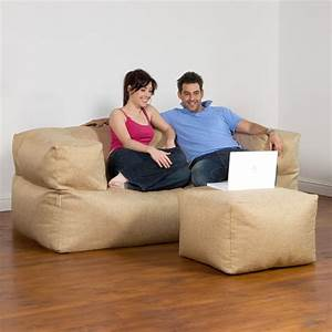 corduroy bean bag sofa 7 5 foot mojobagz foam filled bean With 5 foot sofa bed