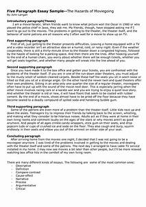 essay first paragraph example