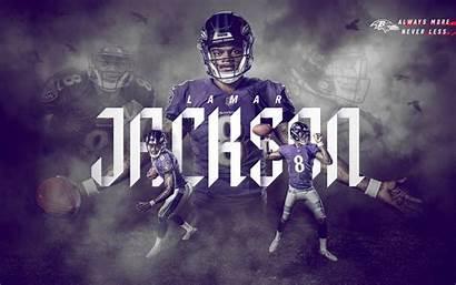 Ravens Baltimore Lamar Jackson Wallpapers Desktop Nfl