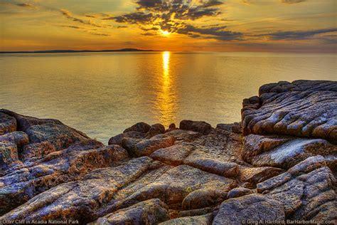 otter cliff  acadia national park