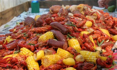 Low Country Crawfish Boil Marshall Style  Saturday, June