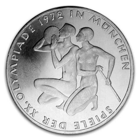 10 dm münze wert olympische spiele brd 10 deutsche gedenkm 252 nzen zu