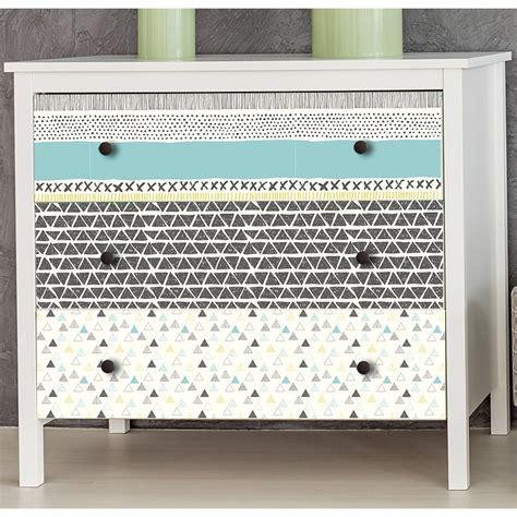 stickers pour meuble de cuisine stickers scandinaves pour meubles et tiroirs gris verts bleus