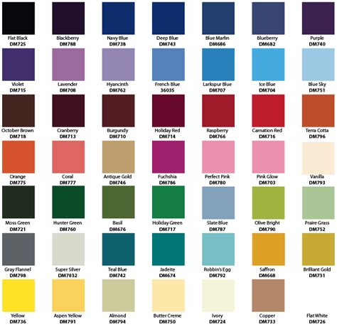 paint color number chart inspiring krylon spray paint color chart 6 metallic spray