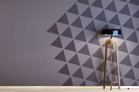Muster Wand Streichen by Zweifarbige W 228 Nde Ideen Zum Streichen Tapezieren
