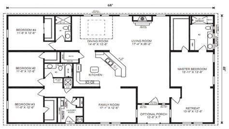 mobile modular home floor plans triple wide mobile homes  bedroom floorplans mexzhousecom