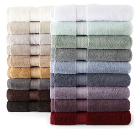 Jcpenney Bathroom Towel Sets by Jcpenney Only 49 99 For Cotton Bath Towel Set