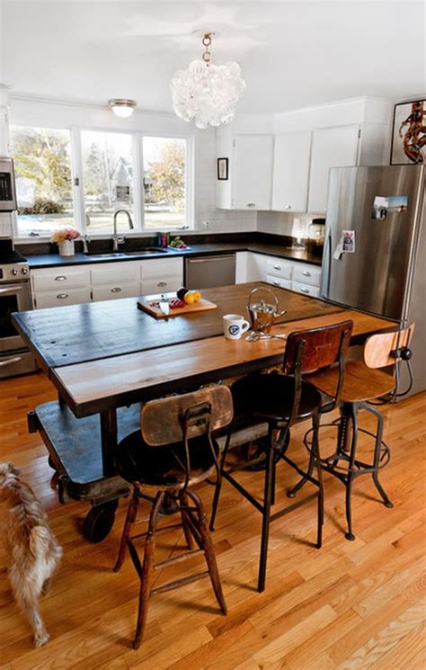 kitchen island or table portable kitchen islands they reconfiguration easy
