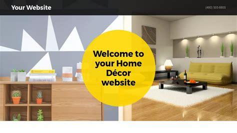 home decor website home d 233 cor website templates godaddy
