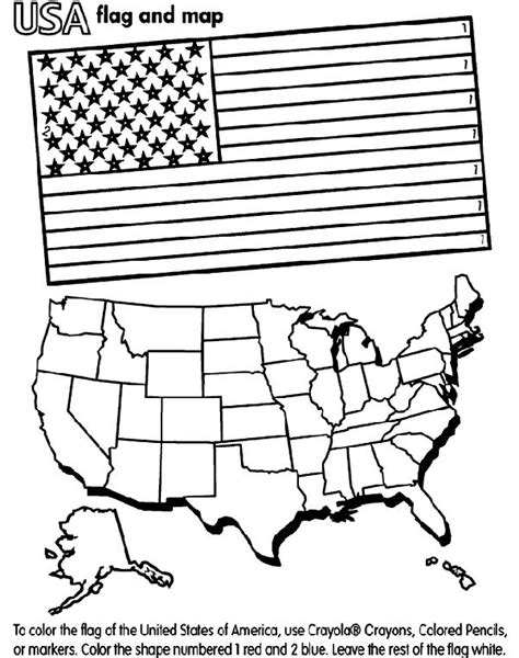 Permalink to Fantastic United States Of America Flag Coloring Page