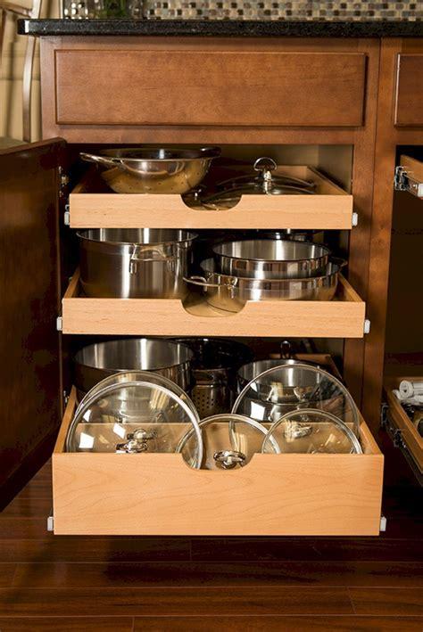 kitchen cabinet organization hack ideas