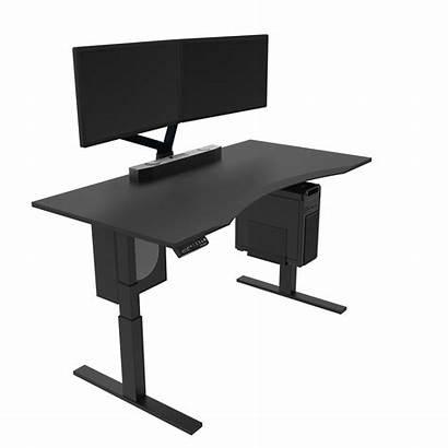 Desk Omnidesk Adjustable Aftershockpc Standing Electric