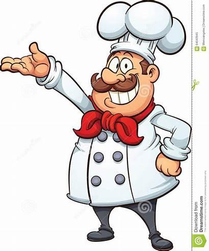 Chef Cartoon Vector Illustration Clip Fat Simple