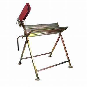 Chevalet Coupe Bois : chevalet pliable en acier galvanis chevalet range ~ Premium-room.com Idées de Décoration