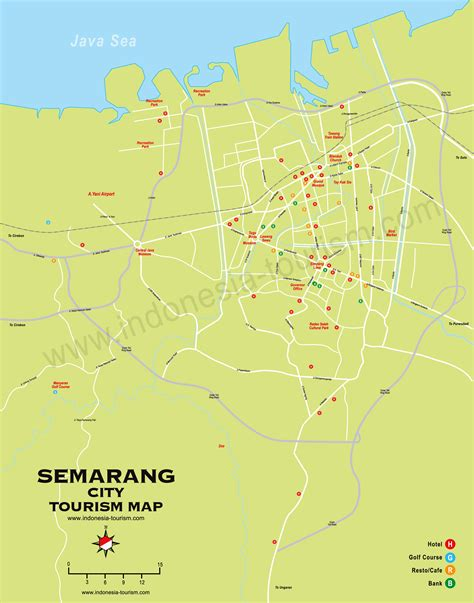 semarang city map peta kota semarang
