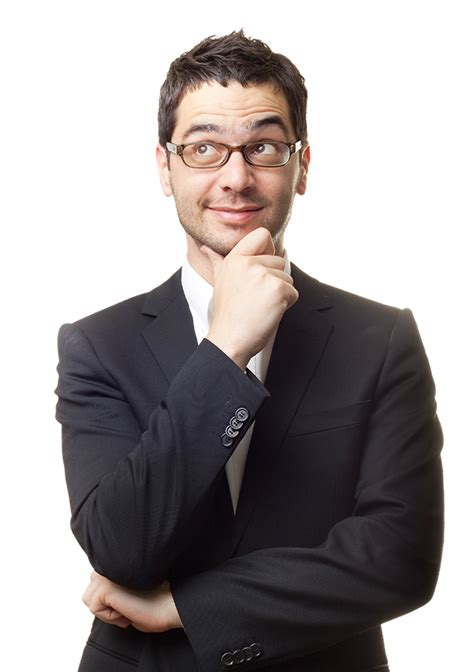 Businessman Thinking PNG Image | PNG All