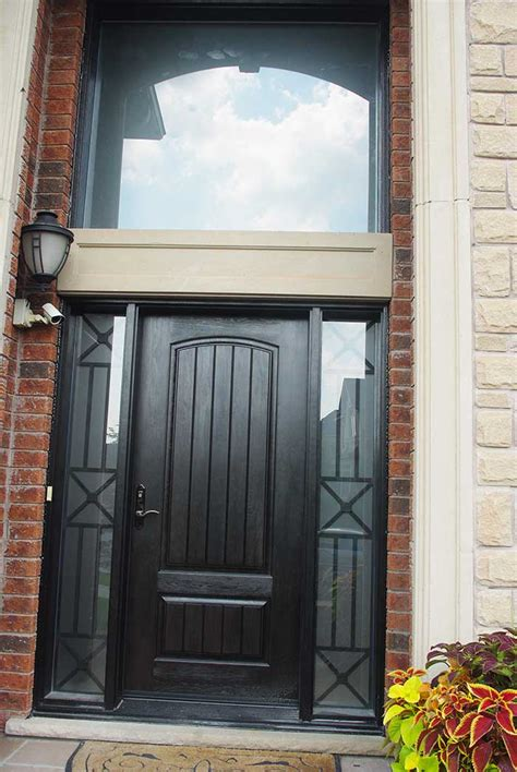 Fiberglass Front Doors by Rustic Fiberglass Exterior Doors
